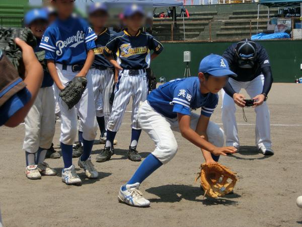住友建機少年野球教室2015-(6