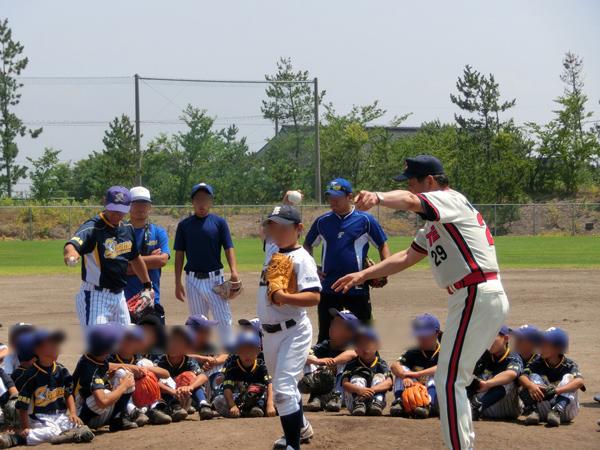 住友建機少年野球教室2